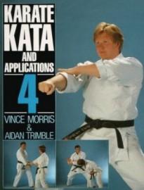 KARATE KATA & APPLICATIONS VOL 4. Softback