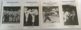 SHOTOKAN DAWN SET OF 4 BOOKS
