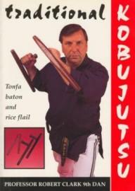 TRADITIONAL KOBUJUTSU.  TONFA BATON AND RICE FLAIL